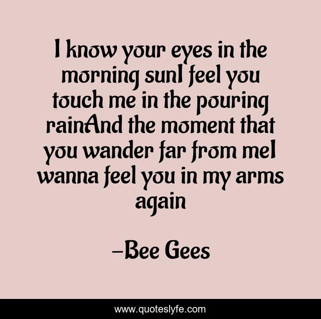 Best How Deep Is Your Love Quotes With Images To Share And Download For Free At Quoteslyfe