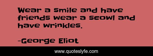 Wear a smile and have friends wear a scowl and have wrinkles.
