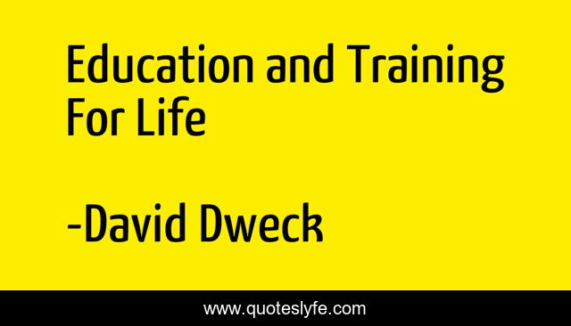Education and Training For Life