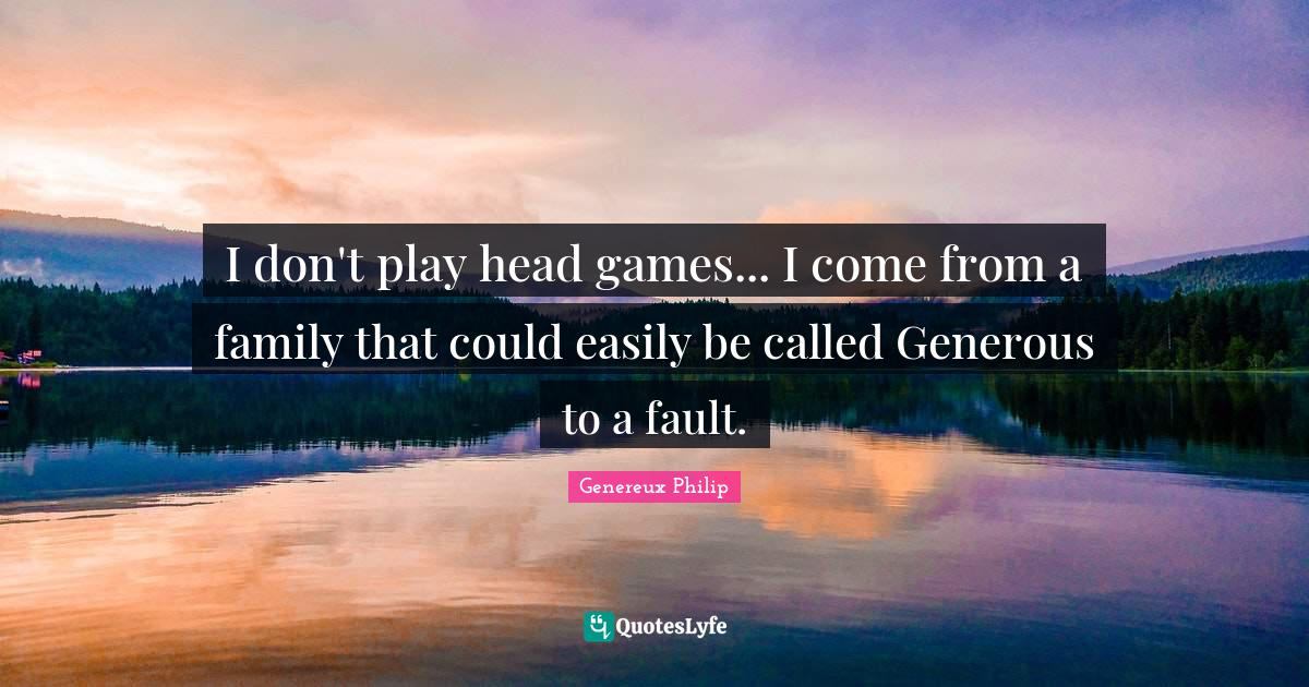 Playing head games quotes