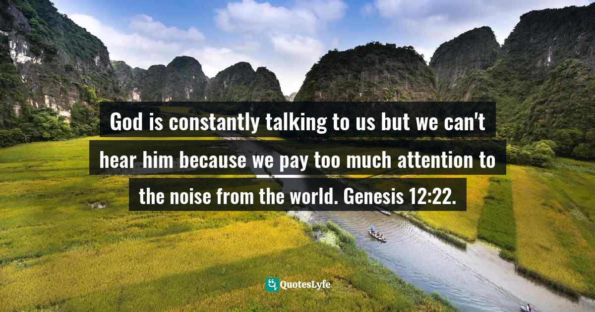 Felix Wantang, Face to Face Meetings with Jesus Christ 2 (Read Chapter One)): Astounding Biblical Mysteries revealed in his own words like never before in human history. Quotes: God is constantly talking to us but we can't hear him because we pay too much attention to the noise from the world. Genesis 12:22.