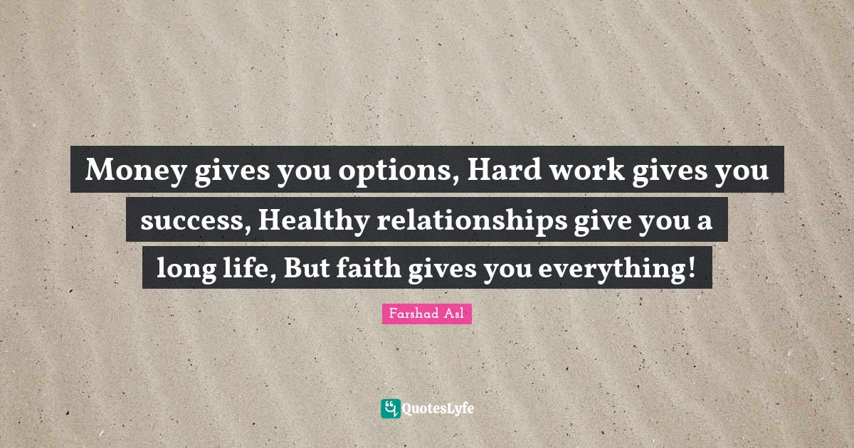 Hard work are quotes relationships What Do